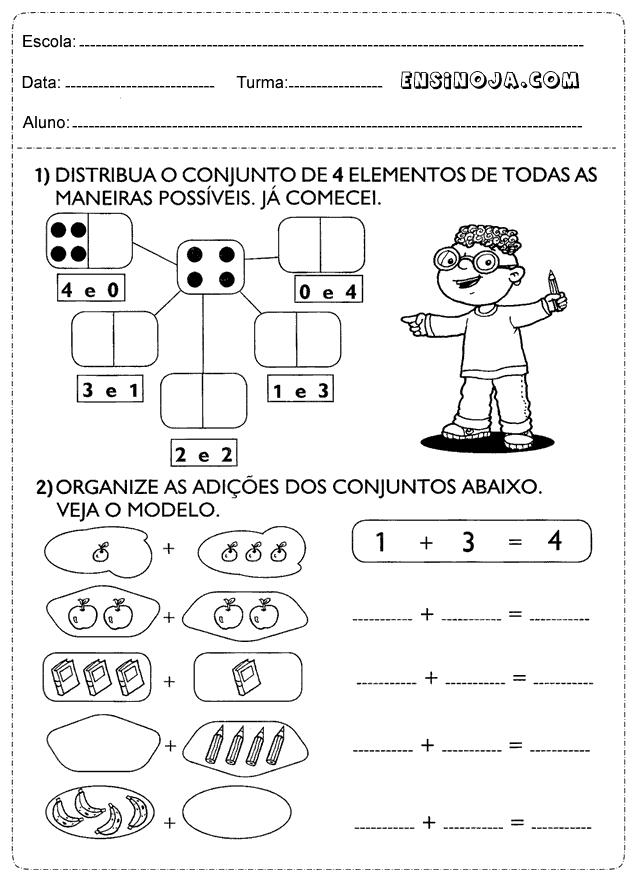 Preferência Atividades matemática 2° ano ensino fundamental - Ensino Já ON28