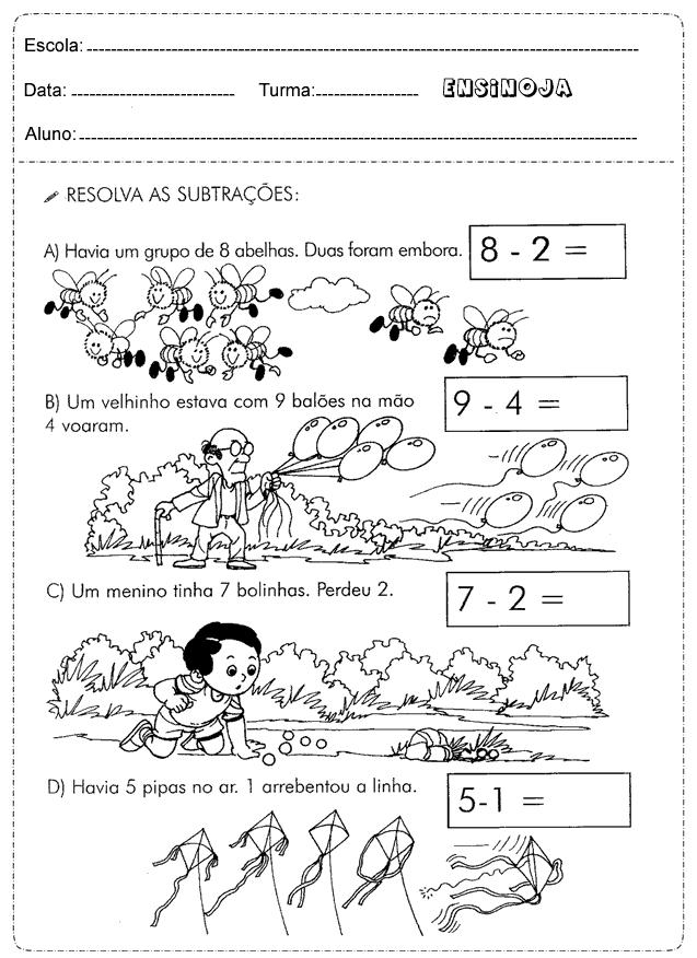 Excepcional Atividades matemática 2° ano situações-problema - Ensino Já PQ96