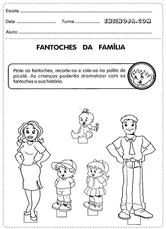 Fantoches da família