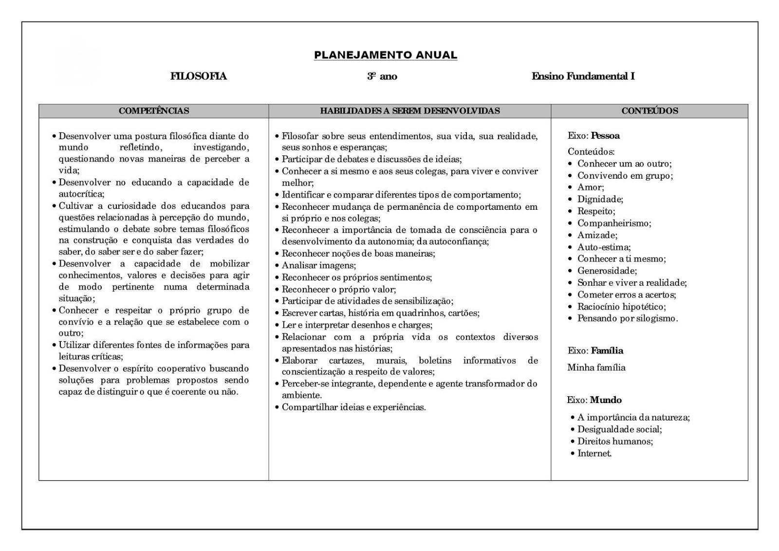 Muitas vezes Planejamento-anual-3-ano-do-ensino-fundamental-filosofia - Ensino Já DY08