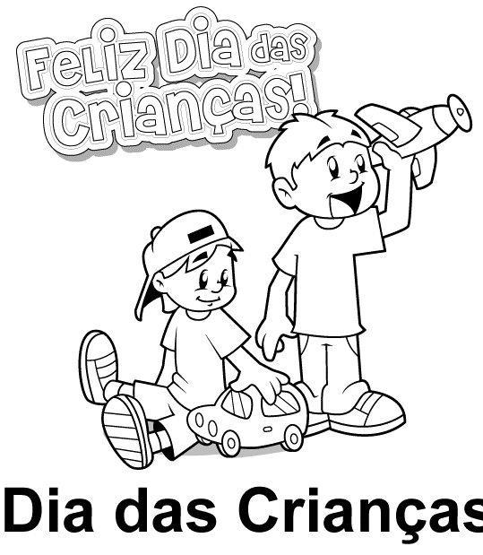 Atividades De Colorir Dia Das Criancas Educacao Infantil Ensino Ja